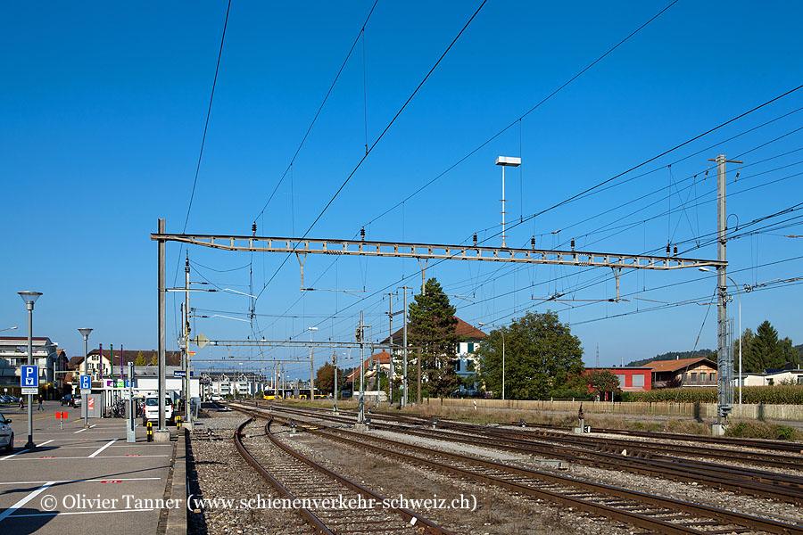 """Bahnhof """"Aarberg"""""""