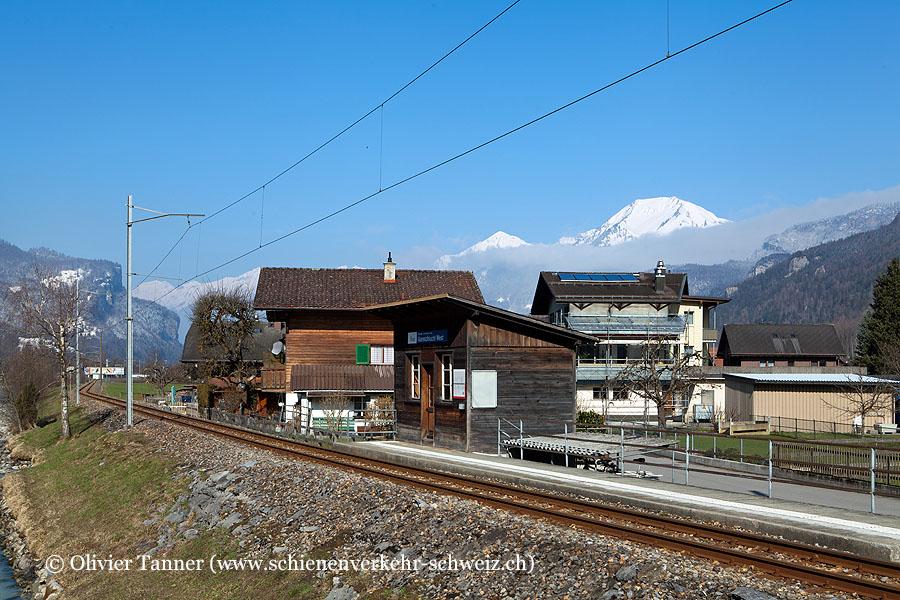 """Bahnhof """"Aareschlucht West MIB"""""""