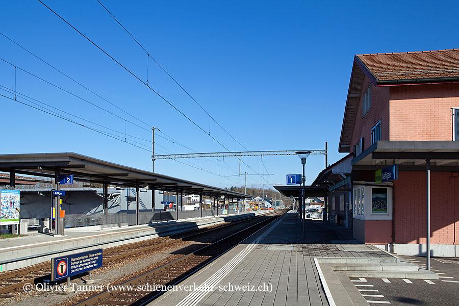 "Bahnhof ""Aefligen"""