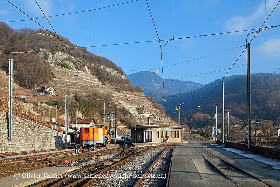 """Bahnhof """"Aigle-Dépôt AL"""""""