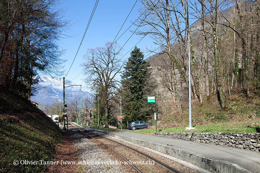"""Bahnhof """"Aigle-Parc Aventure"""""""