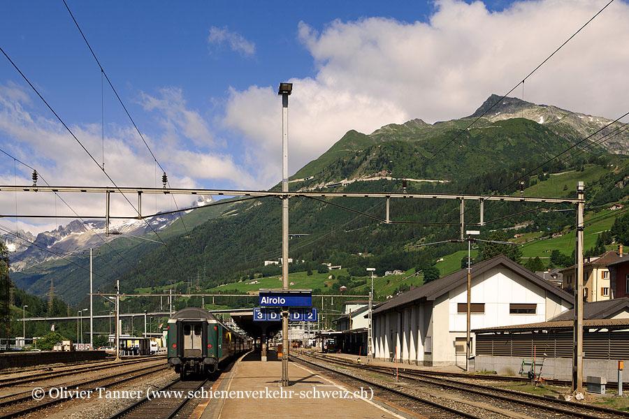 """Bahnhof """"Airolo"""""""