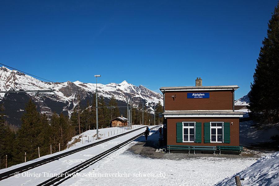 """Bahnhof """"Alpiglen"""""""