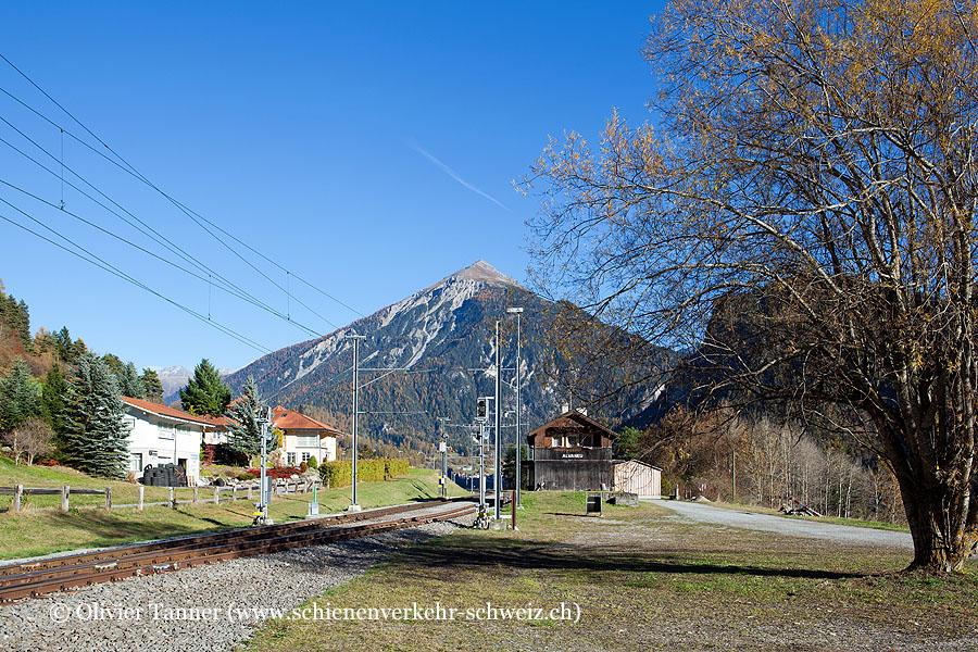 """Bahnhof """"Alvaneu"""""""