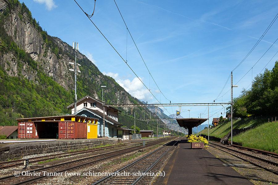 """Bahnhof """"Amsteg-Silenen"""""""