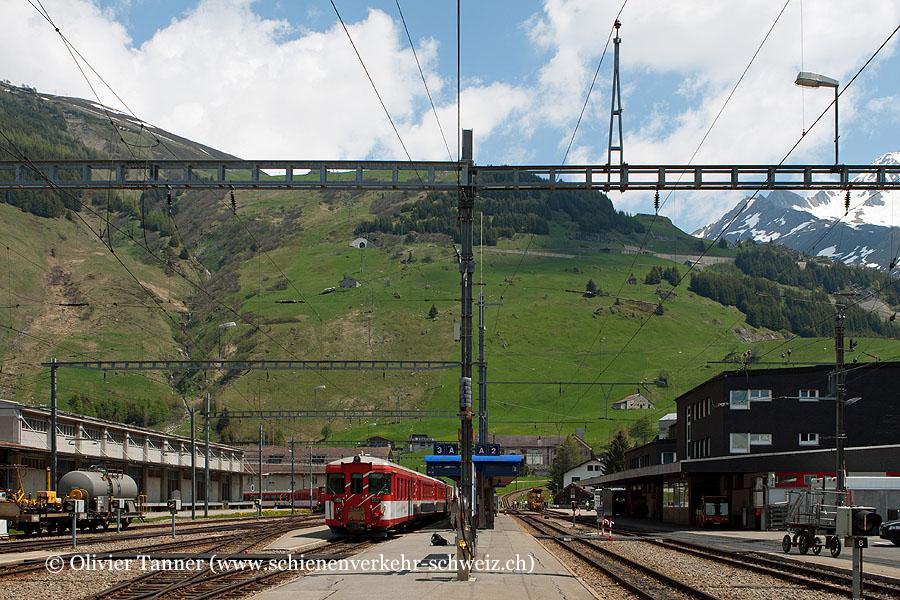 """Bahnhof """"Andermatt"""""""