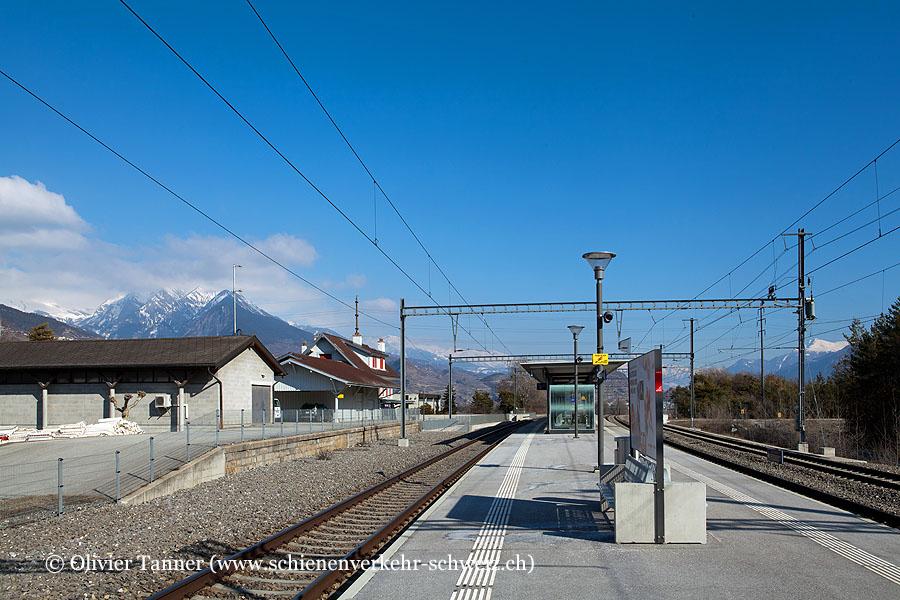 """Bahnhof """"Ardon"""""""