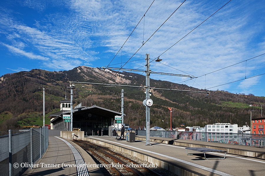 """Bahnhof """"Arth-Goldau RB"""""""