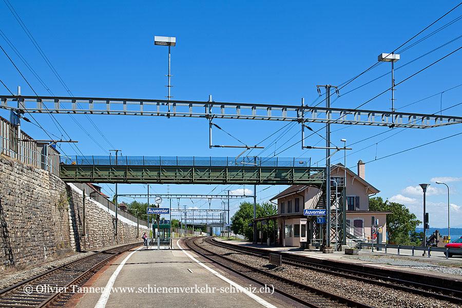 """Bahnhof """"Auvernier"""""""