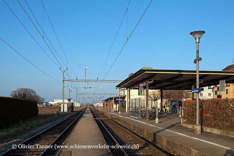 "Bahnhof ""Avenches"""