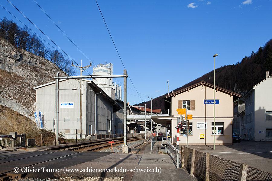 """Bahnhof """"Bärschwil"""""""