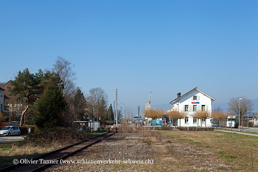 """Bahnhof """"Büren an der Aare"""""""