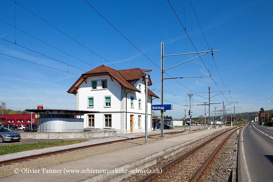 """Bahnhof """"Baldegg"""""""