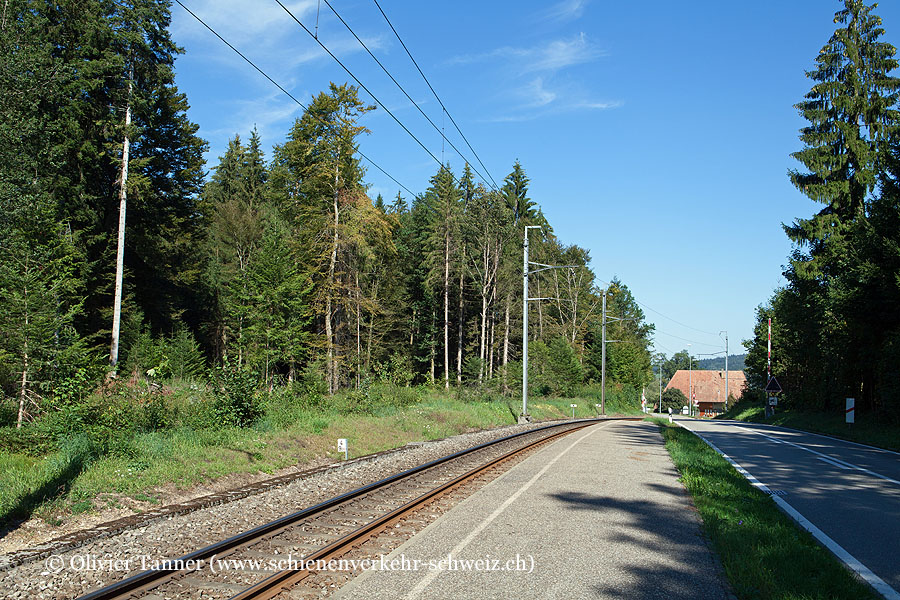 """Bahnhof """"Bannwil Kleben"""""""