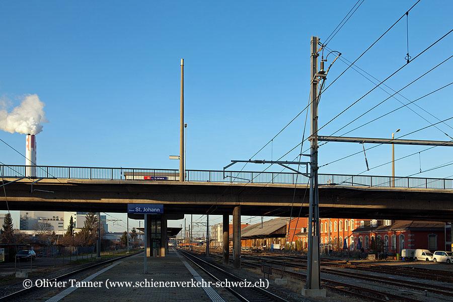 "Bahnhof ""Basel St. Johann"""