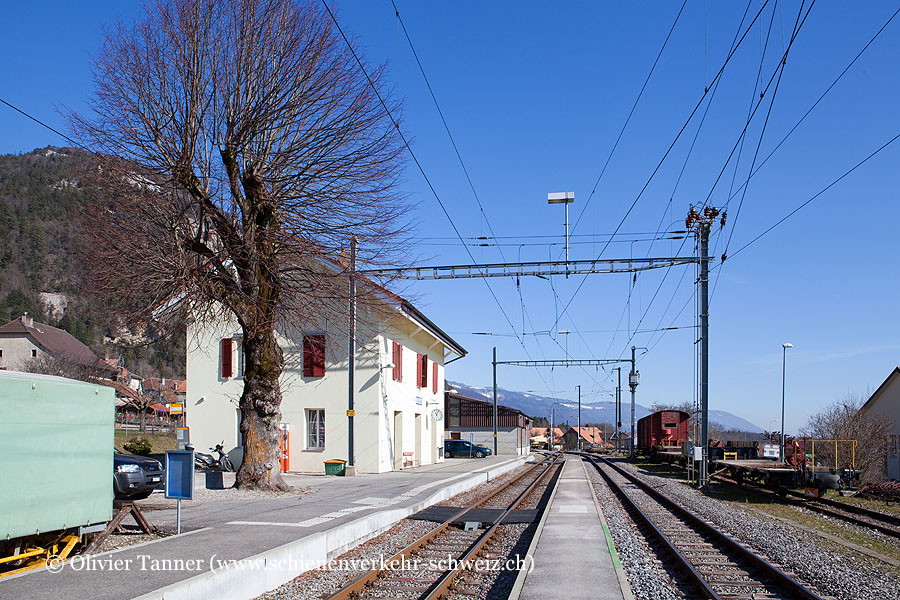 "Bahnhof ""Baulmes"""