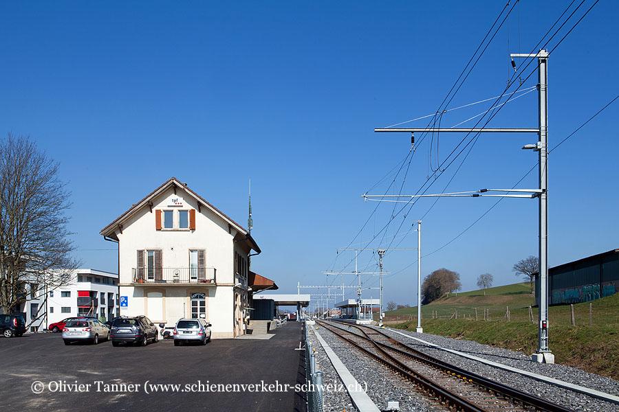 "Bahnhof ""Belfaux-Village"""