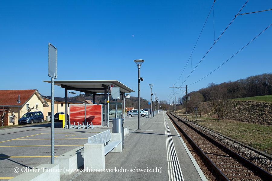 "Bahnhof ""Belfaux CFF"""
