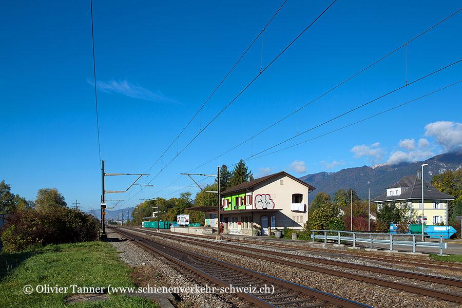 "Bahnhof ""Bellach Industrie"""