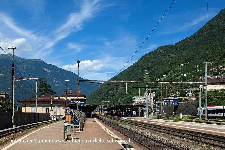 """Bahnhof """"Bellinzona"""""""