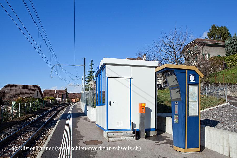 """Bahnhof """"Belmont-sur-Montreux"""""""