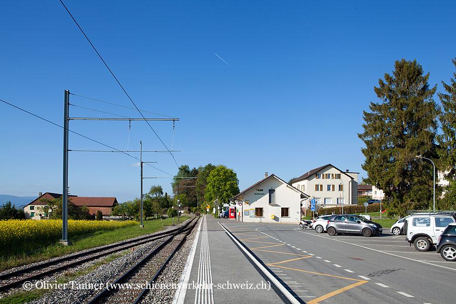 """Bahnhof """"Bercher"""""""