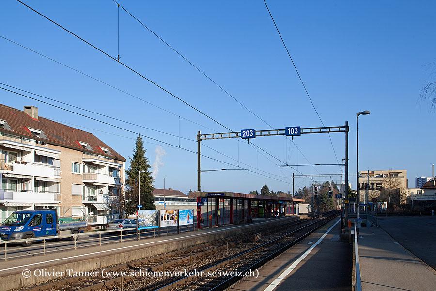 """Bild: Bahnhof """"Bern Stöckacker"""" • Schienenverkehr-Schweiz.ch"""
