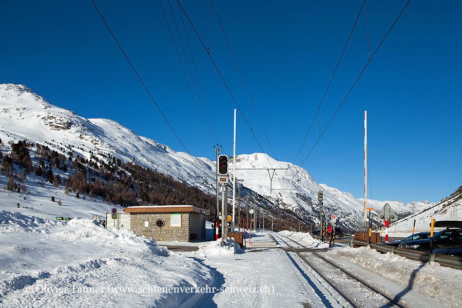 "Bahnhof ""Bernina Diavolezza"""