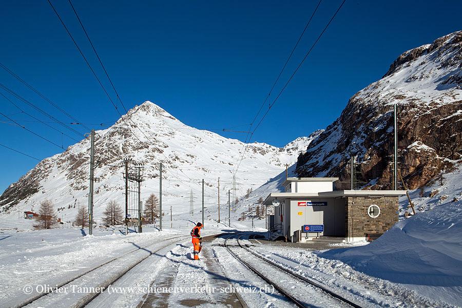 """Bahnhof """"Bernina Lagalb"""""""