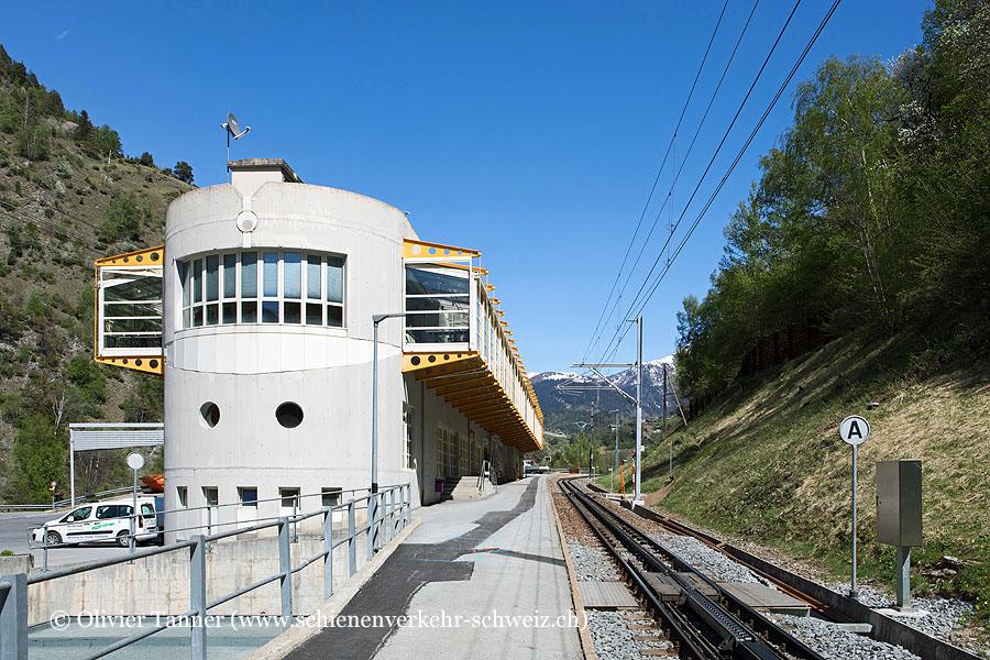 "Bahnhof ""Betten Talstation"""