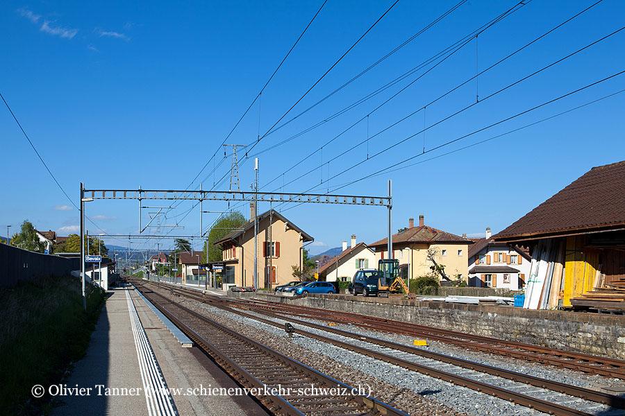 """Bahnhof """"Bevaix"""""""