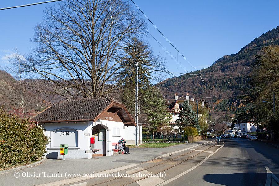 "Bahnhof ""Bex Pont-Neuf"""