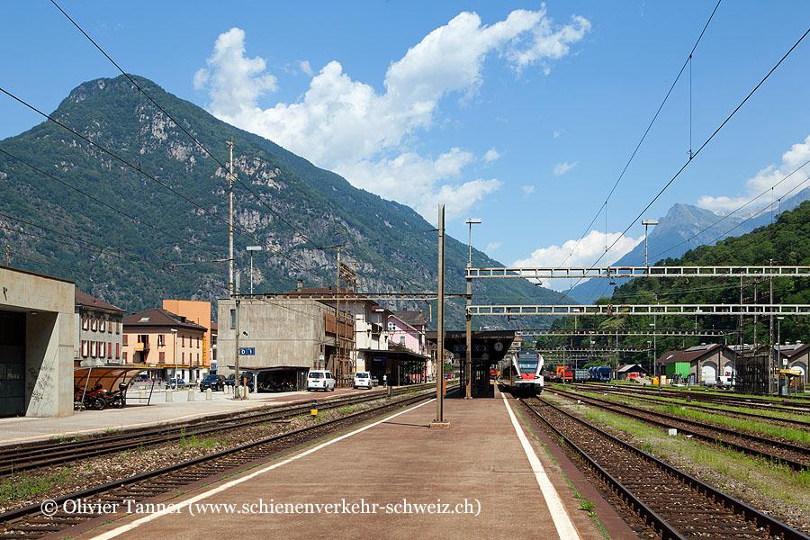 """Bahnhof """"Biasca"""""""