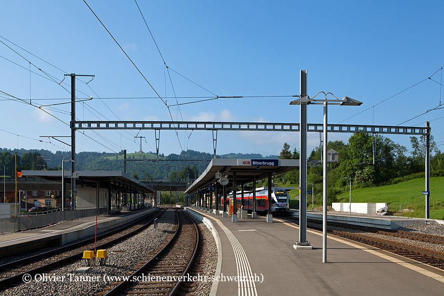 """Bahnhof """"Biberbrugg"""""""