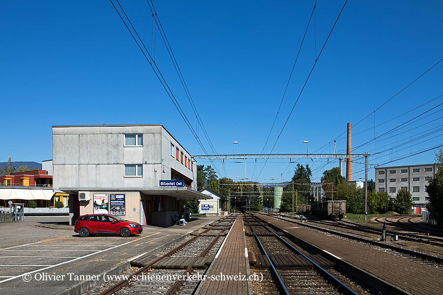 "Bahnhof ""Biberist Ost"""