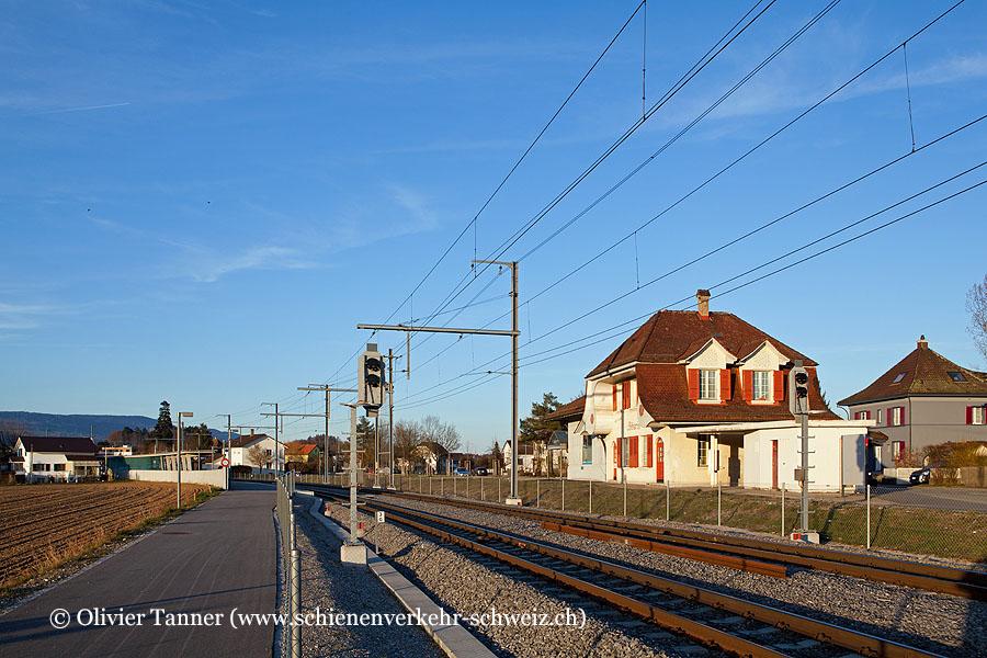 "Bahnhof ""Biberist RBS"""