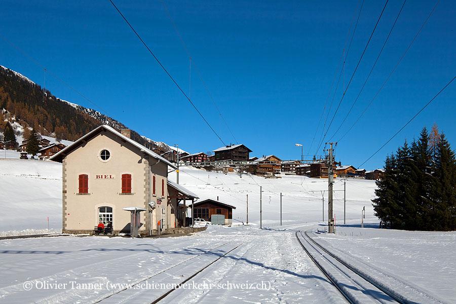 "Bahnhof ""Biel (Goms)"""