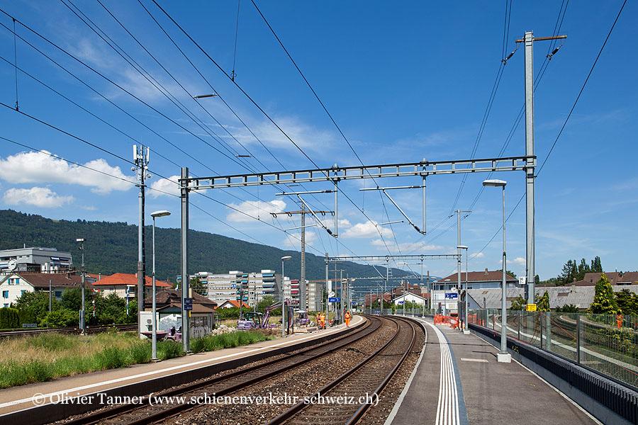 """Bahnhof """"Biel Mett"""""""