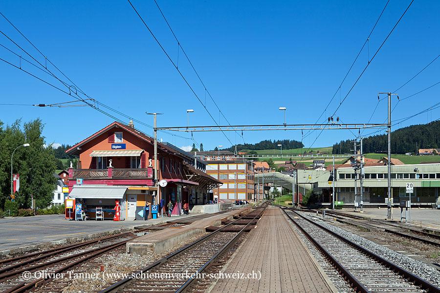"""Bahnhof """"Biglen"""""""