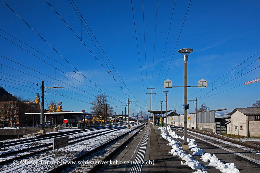 """Bahnhof """"Bilten"""""""