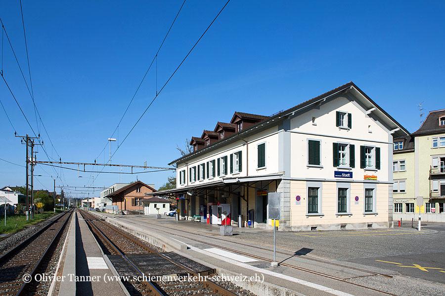 "Bahnhof ""Bischofszell Stadt"""