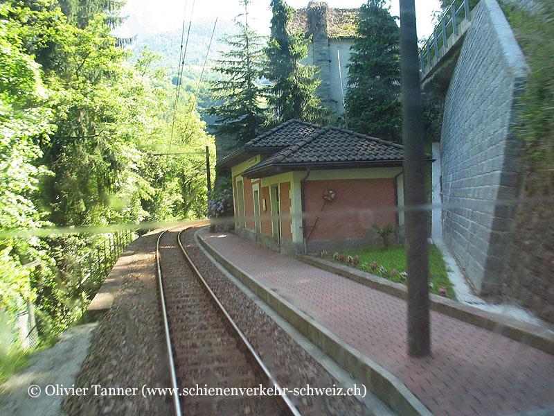 """Bahnhof """"Borgnone-Cadanza"""""""