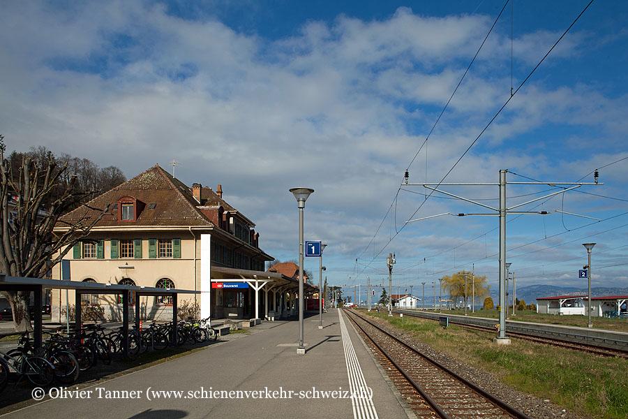 """Bahnhof """"Bouveret"""""""