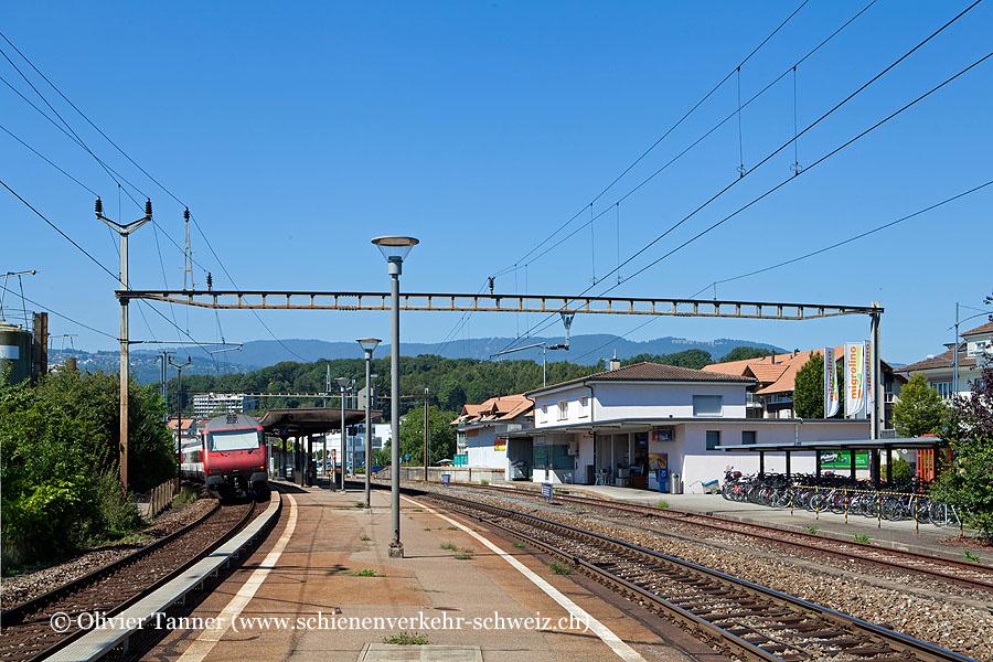 """Bahnhof """"Brügg BE"""""""