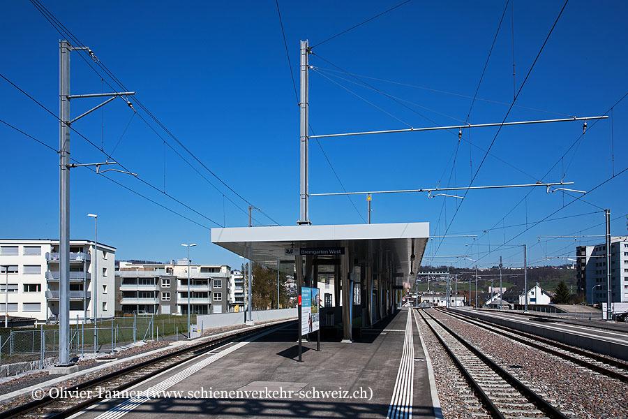"""Bahnhof """"Bremgarten West"""""""