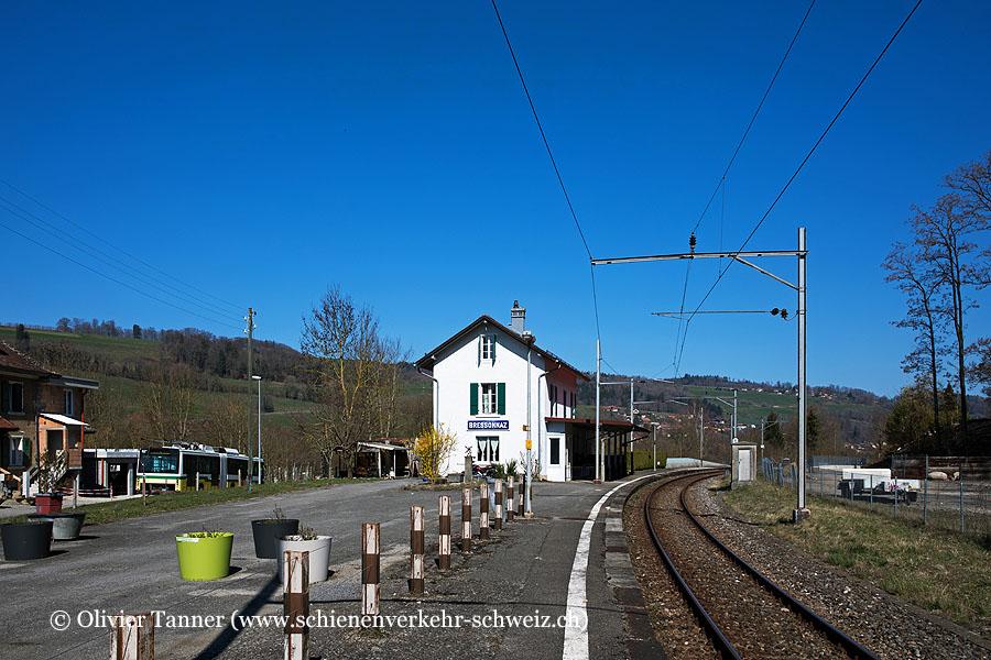 """Bahnhof """"Bressonnaz"""""""
