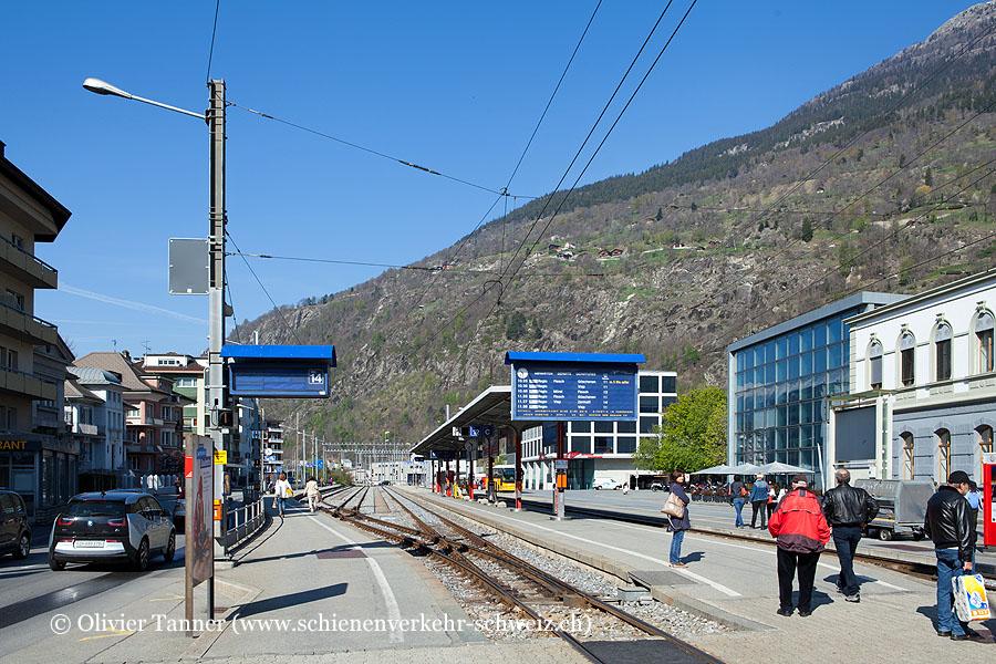 """Bahnhof """"Brig MGB"""""""