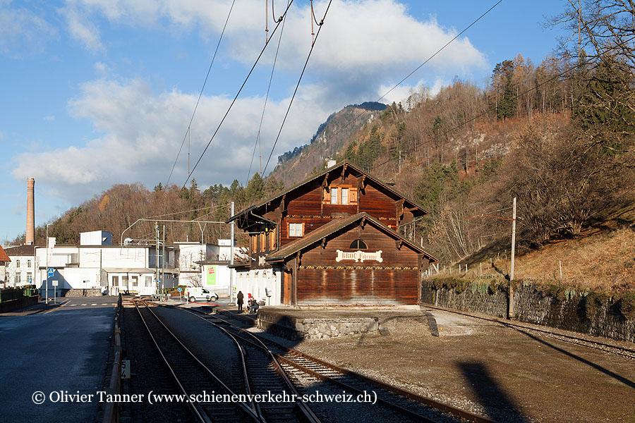 """Bahnhof """"Broc-Fabrique"""""""
