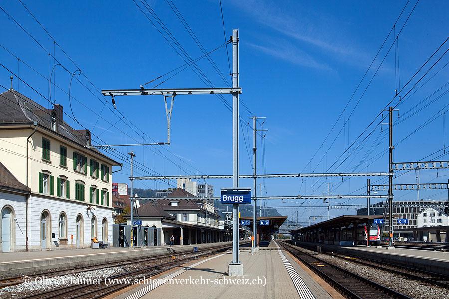 """Bahnhof """"Brugg AG"""""""