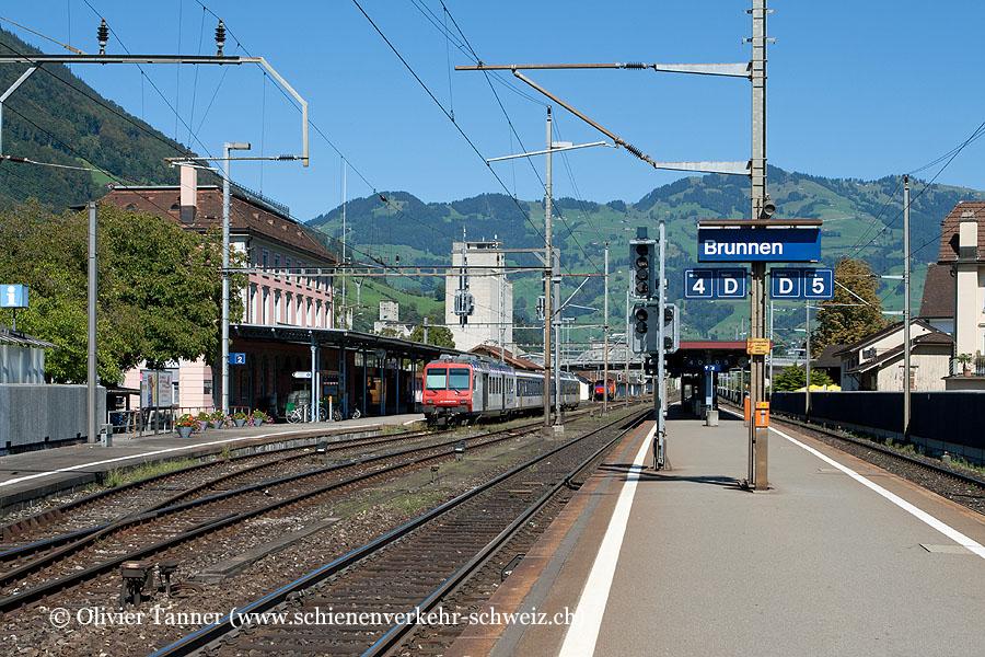 """Bahnhof """"Brunnen"""""""